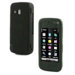 Nokia 5800 Black Silcone Case