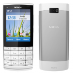 Nokia X3-02 Touch and Type - Smartphone - White Silver